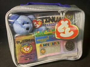 TY Beanie Babies Official Collectors Club Platinum Membership Bag ⭐️Unopened ⭐️