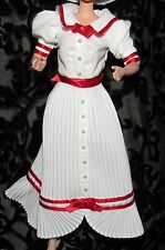 BARBIE SUMMER DAYDREAMS COCA COLA WHITE RED TRIM DRESS FASHION FOR DOLL