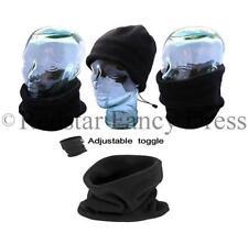 Sciarpe, foulard e scialli da donna nero in poliestere