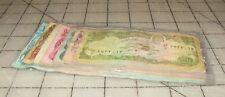 Bundle of 6 DA AFGHANISTAN Banknotes Afghanis 10,000 - 1,000 to 10 Circulated