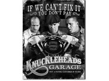NEW Three Stooges-Knucklehead Garage tin metal sign