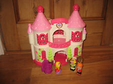 EARLY LEARNING CENTRE RARE HAPPYLAND OPENOUT PRINCESS CASTLE PALACE  PLAYFIGURE