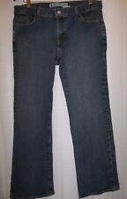 GAP Stretch Low Rise Boot Cut Dark Blue Jeans Size 12A
