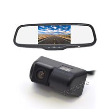 OEM Reverse Backup Camera & Rear View Mirror Monitor For Ford Transit Connect
