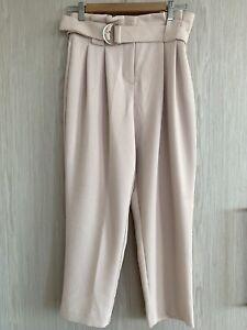 Forever New Petite Blush Pink Straight Leg Pant Size 6