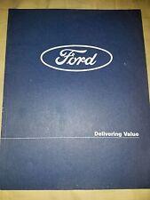 1997 FORD MOTOR  ANNUAL REPORT Thunderbird Mustang Taurus F150  Focus 97