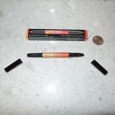 NEW FULL SIZE NYX Ombre Duo Peaches & Cream OLD05 Lipstick Lip Liner $16