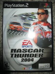 NASCAR Thunder 2004  (Sony PlayStation 2, 2003) PS2 Complete
