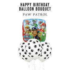 Party Supplies Decorations Boys Paw Patrol Birthday Paw Prints Bouquet Balloons