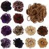 AB_ NEW Women DIY Elastic Wig Hair Ring Curly Scrunchie Bun Ponytail Hairpiece