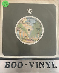 "FLEETWOOD MAC - DON'T STOP  7"" VINYL EX CON"