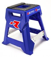 RACETECH R15 WORKS BLUE MX BIKE STAND PADDOCK PIT MOTOCROSS ENDURO