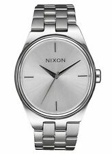 Nixon Idol Collection Ladies Stainless Steel 35mm Minimal Watch A953-1920 $200