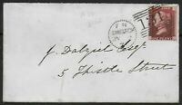 1871. Edinburgh Dotted Circle Duplex Type Cancel On 1d. Plate 140. Ref:07114