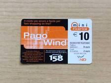 RICARICA TELEFONICA WIND - PAGO WIND - 10,00 EURO