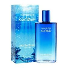 Davidoff Cool Water Into The Ocean Limited Edition Men EDT Spray 125ml 4.2oz NEW