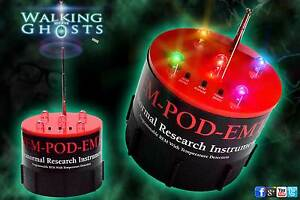 Authentic Rem Pod EMF ATDD Temperature, Paranormal Ghost Hunt REV 2.0 Update UK