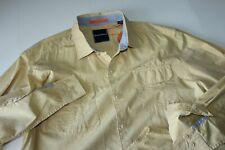 Tommy Bahama Shirt Slub Tropic Villa Yellow T314550 LS New Large L