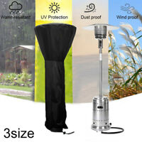 Heavy Duty Waterproof Gas Patio Heater Cover Outside Furniture Protector Outdoor