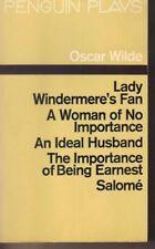 Plays by Oscar Wilde (Paperback, 1969)