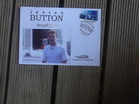 JENSON BUTTON FIRST DAY COVER AUSTRALIAN FORMULA ONE STAMP