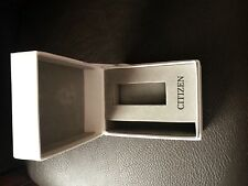 Citizen Eco-Drive ladies Watch BOX ONLY NO WATCH with Outer Box in white case