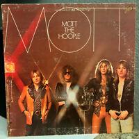 "MOTT THE HOOPLE - Mott (KC 32425) - 12"" Vinyl Record LP - VG"