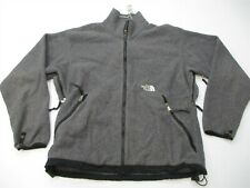 THE NORTH FACE Fleece Jacket Men's Size XL Hiking Warm Zip-Up Heather Gray