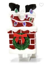 Bath & Body Works Stuck Santa Chimney Wallflower Plug Christmas '20 New