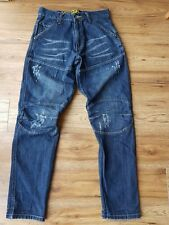 "G Star Raw 96 Elwood 5620, Radar GS Embro Men's Designer Jeans. W30"" L33"""