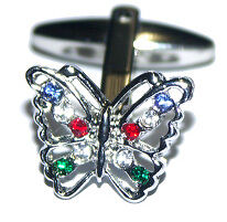 Butterfly Cufflinks Animal Cuff Links