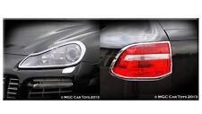 Porsche Cayenne 2007-2010 Headlight & Taillight Chrome Trim Surround
