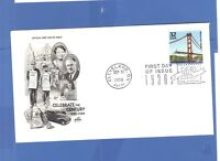 FIRST DAY ISSUE CELEBRATE THE CENTURY 1930 GOLDEN GATE BRIDGE STAMP FDC