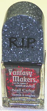 New Fantasy Makers R.I.P. Nail Polish  #12489 Once Upon A Time Red Glitter