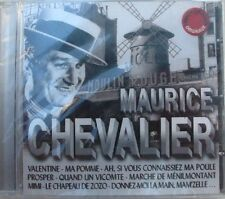 Maurice CHEVALIER (CD)  VALENTINE COMPIL 18 TITRES NEUF SCELLE