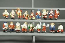 Danbury Mint Santa Around the World Ornaments Lot 580