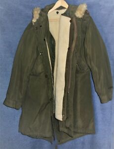 WWII M-51 Fish Tail Parka with Heavy Wool/Cotton Liner