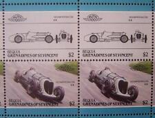 1933 NAPIER RAILTON Brooklands Car 50-Stamp Sheet Auto 100 Leaders of the World
