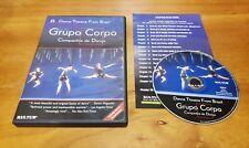 Grupo Corpo: Brazillian Dance Theatre (DVD, 2004) live performance & documentary