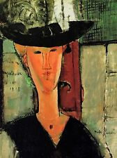 Amedeo Modigliani Madame Pompadour OLD MASTER ART PAINTING imprimé Poster 153oma