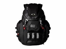 New Men's OAKLEY Kitchen Sink Backpack 34L Capacity 92060A-001 Black Red Bag