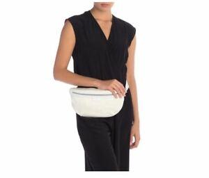 New Stella McCartney Falabella White Nylon Belt Bag