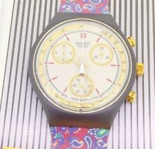 SWATCH CHRONO AWARD SCB108 1992 new in original box papers collectors watch NIB