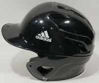 Adidas Baseball Batting Helmet Triple Stripe Black 6 3/8 - 7 3/8 BTE00098 VGUC