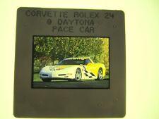 CHEVROLET CORVETTE DAYTONA PACE CAR PRESS SLIDE - 2002