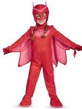 NEW Disguise Owlette Classic Toddler PJ Masks Costume Small S/P 2T