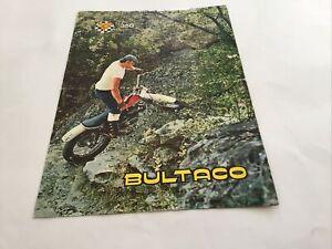 BULTACO SHERPA T 350Motorcycle Sales Brochure. Original.