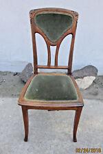 6- French Art Nouveau Period Antique Chairs retailed by Louis Chambry-Paris