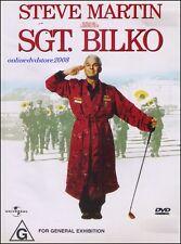 SGT. BILKO (Steve MARTIN Dan AYKROYD Phil HARTMAN) Comedy Film DVD Region 2 & 4