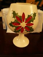 Vintage christmas candle holder
